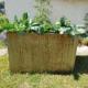 Hochbeet bepflanzt