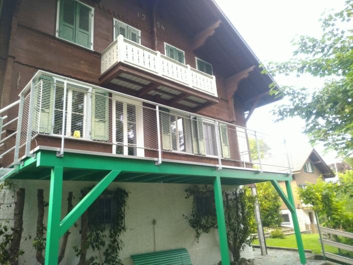 Grüner Balkon