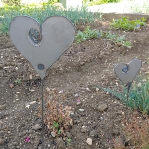 Metallfigur Herz