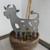 Metallfigur Kuh 2