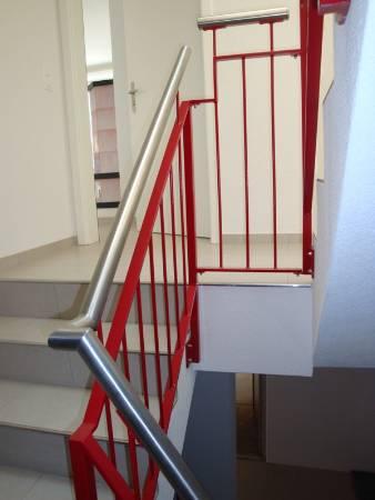 Treppengeländer mit Pfosten & Handlauf